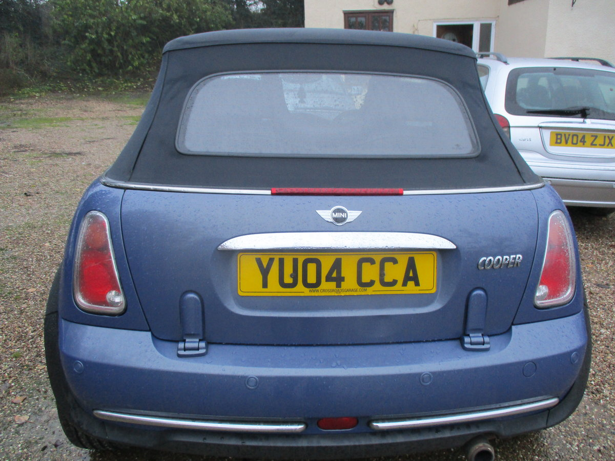 2004 SOUND DRIVER THIS COVERTBLE MINI  ROOF WORKING WELL MAY MOT For Sale (picture 4 of 6)