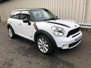 2012 62 MINI COUNTRYMAN 2.0 COOPER SD ALL4 5D 141 BHP MANUAL SOLD