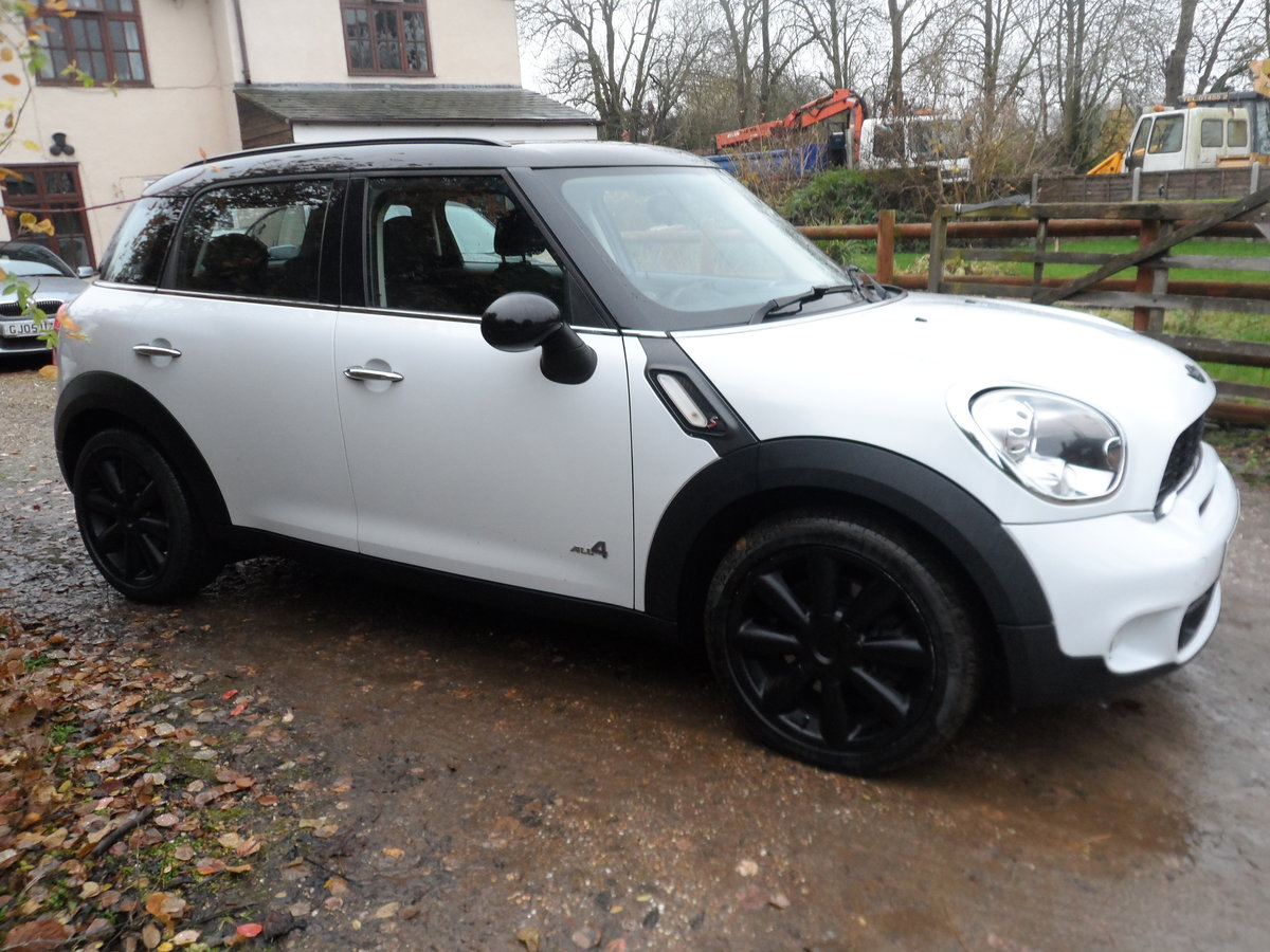 2010 4x4 MINI COPPER 1600cc 6 SPEED MANAUL NICE ALL ROUND  For Sale (picture 1 of 6)