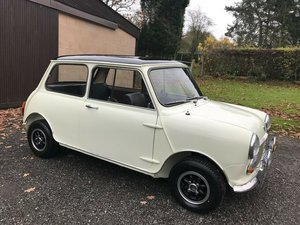 1967 MORRIS MINI COOPER 998 MK2 IN WHITE/BLACK GARAGE FIND!! SOLD