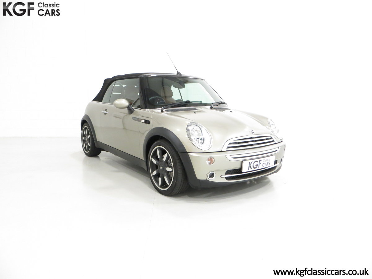2007 Mini Cooper Sidewalk Convertible, One Owner and BMW History For Sale (picture 1 of 6)