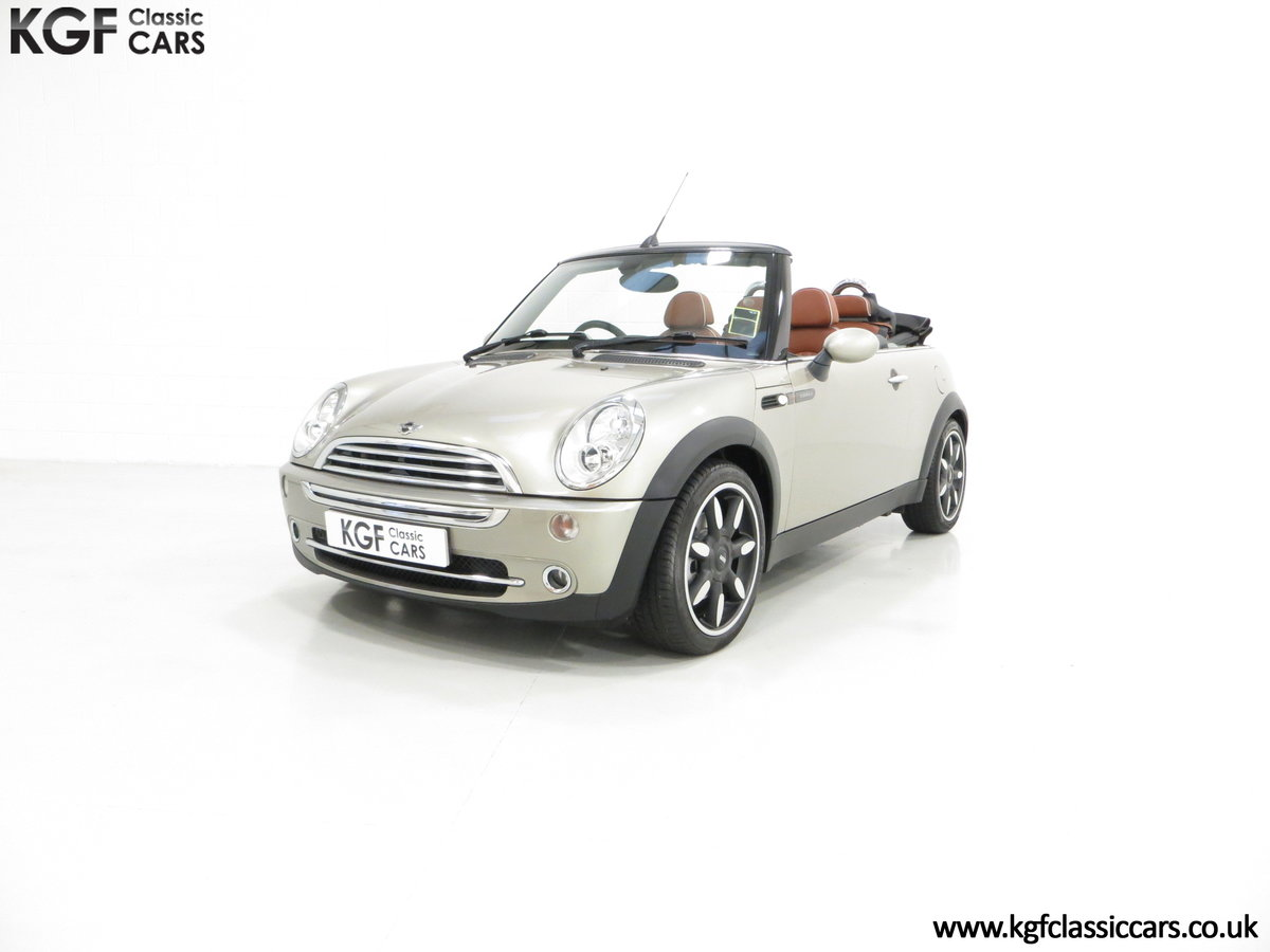 2007 Mini Cooper Sidewalk Convertible, One Owner and BMW History For Sale (picture 2 of 6)