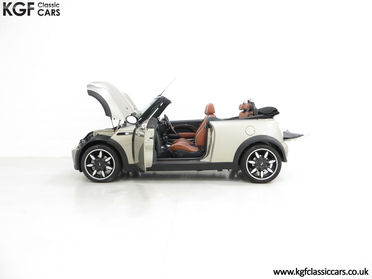 2007 Mini Cooper Sidewalk Convertible, One Owner and BMW History SOLD (picture 3 of 6)