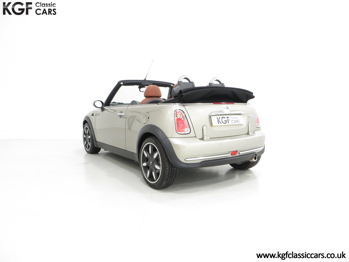 2007 Mini Cooper Sidewalk Convertible, One Owner and BMW History For Sale (picture 4 of 6)