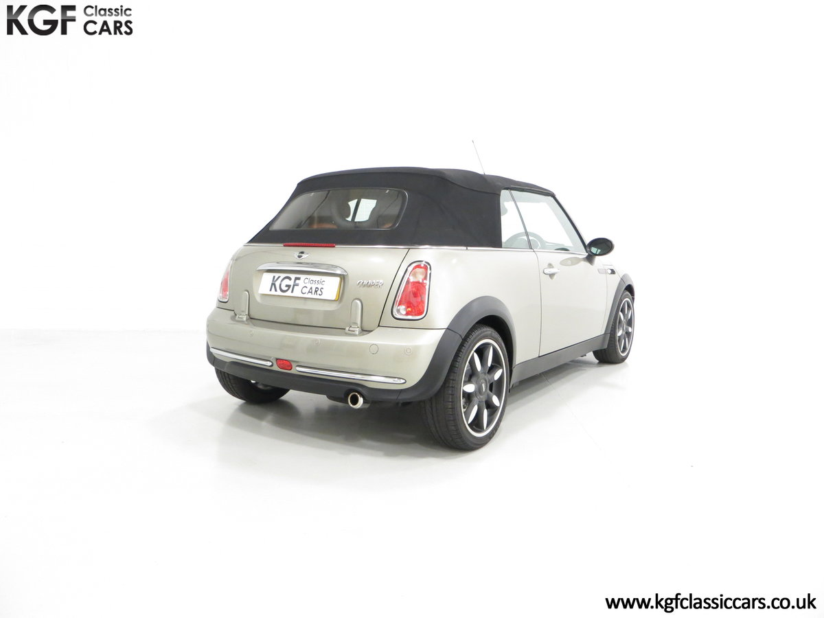2007 Mini Cooper Sidewalk Convertible, One Owner and BMW History For Sale (picture 5 of 6)