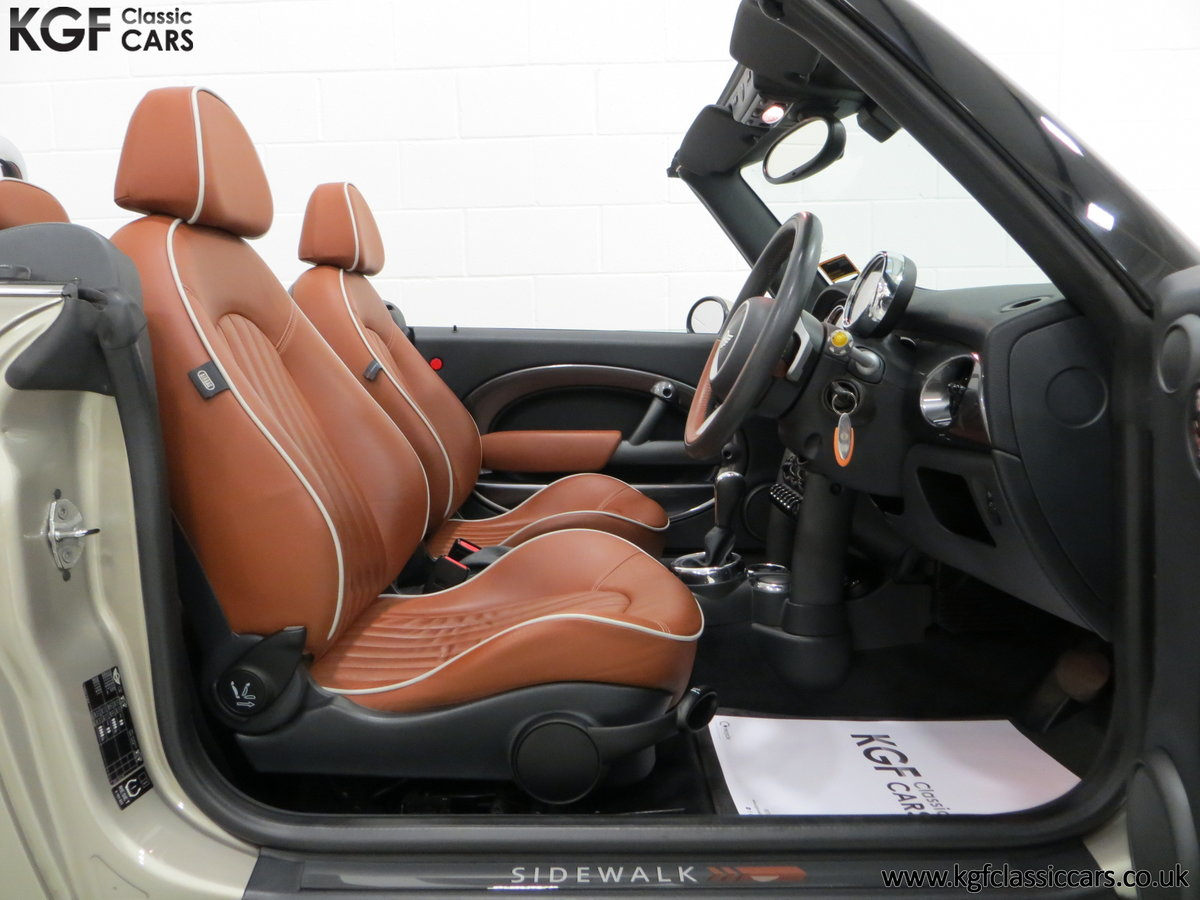 2007 Mini Cooper Sidewalk Convertible, One Owner and BMW History For Sale (picture 6 of 6)