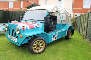 1972 AUSTRALIAN MINI MOKE,RESTORED,EXCELLENT COND.