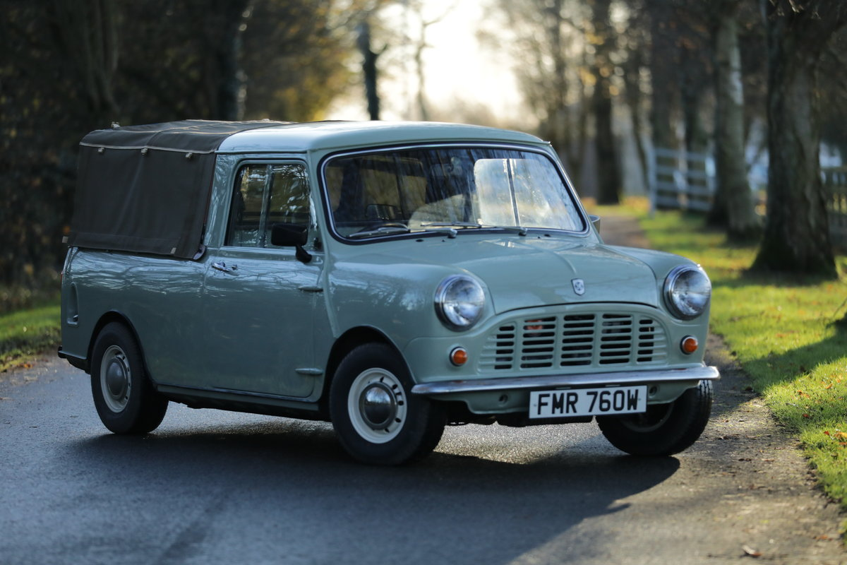 1980 Mini 95 Pickup For Sale (picture 1 of 5)