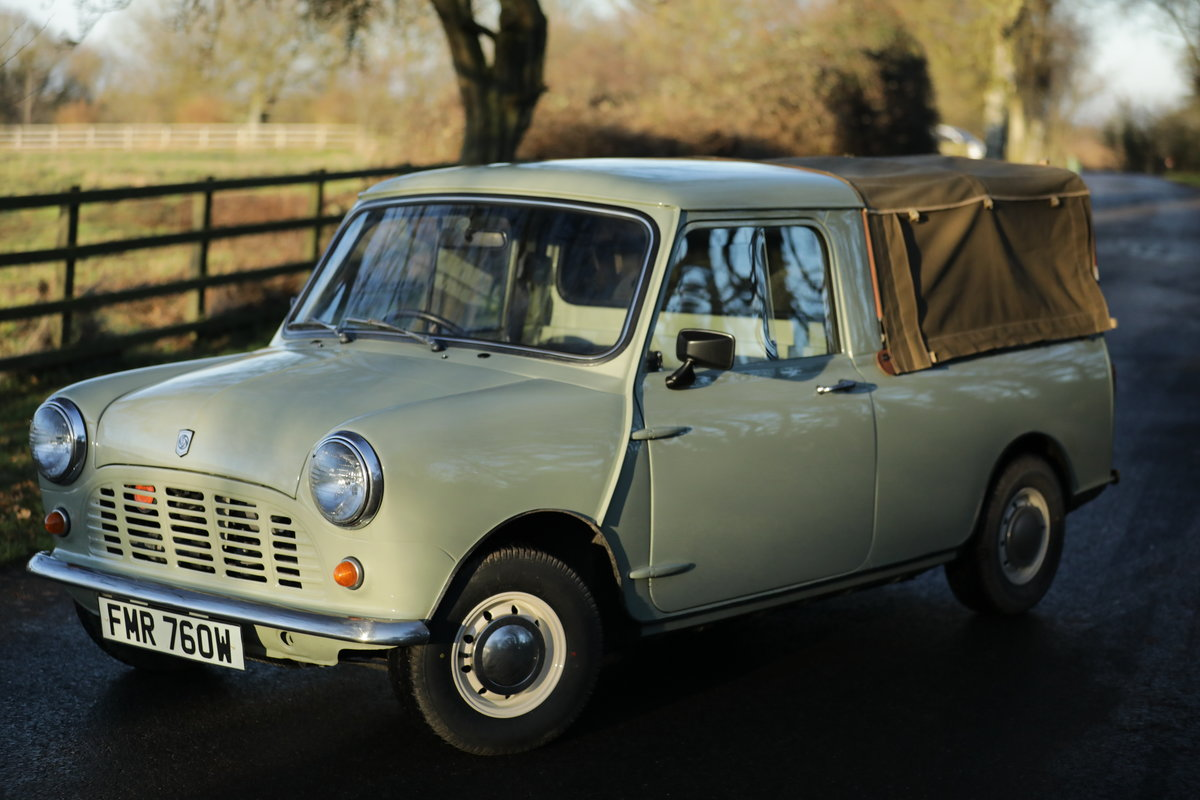 1980 Mini 95 Pickup For Sale (picture 2 of 5)