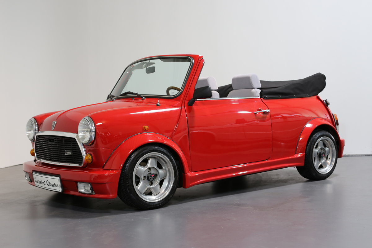 1991 A cute, low mileage Lamm Mini Cabrio – Last owner 26 years SOLD (picture 1 of 6)