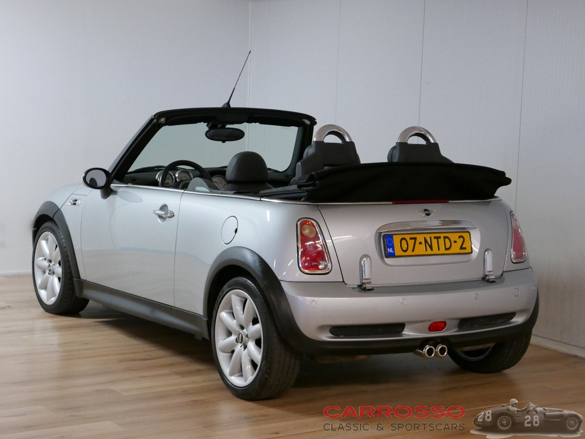 2005 Mini Cooper 1.6 Cabrio with only 84.304 KM For Sale (picture 2 of 6)