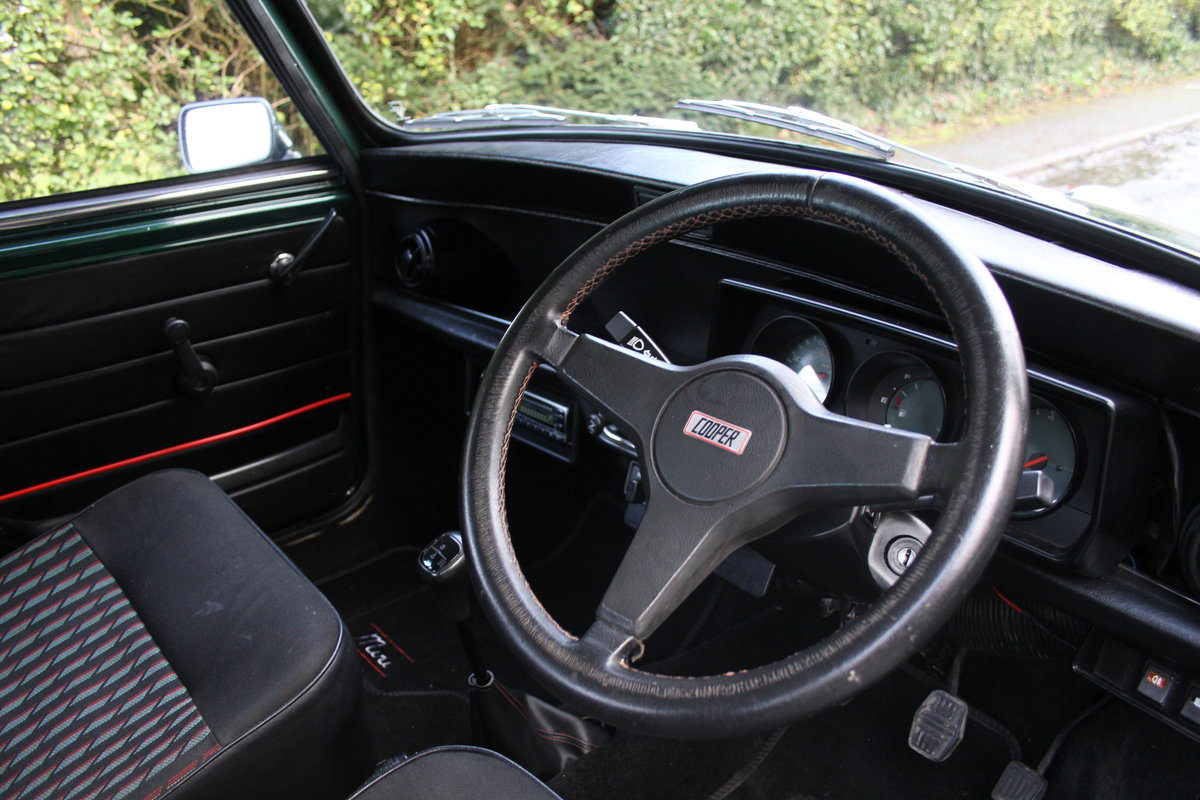 1991 Rover Mini Cooper 1275, 82k miles, top quality original car For Sale (picture 8 of 18)