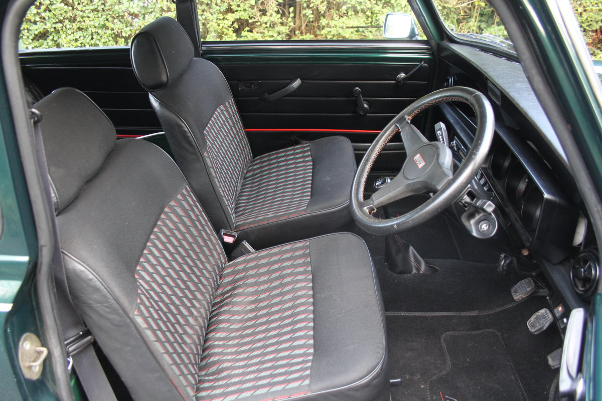 1991 Rover Mini Cooper 1275, 82k miles, top quality original car For Sale (picture 9 of 18)