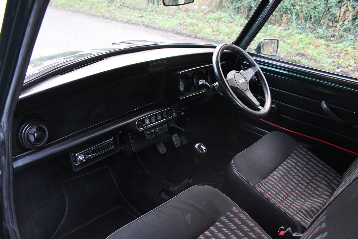 1991 Rover Mini Cooper 1275, 82k miles, top quality original car For Sale (picture 11 of 18)