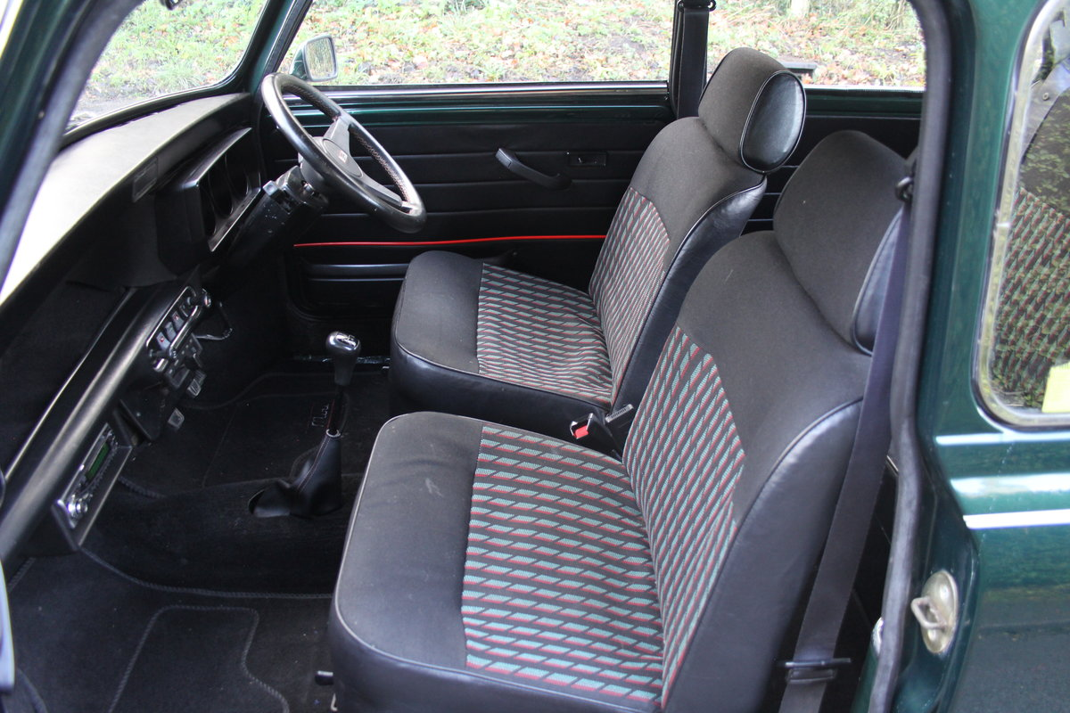 1991 Rover Mini Cooper 1275, 82k miles, top quality original car For Sale (picture 12 of 18)