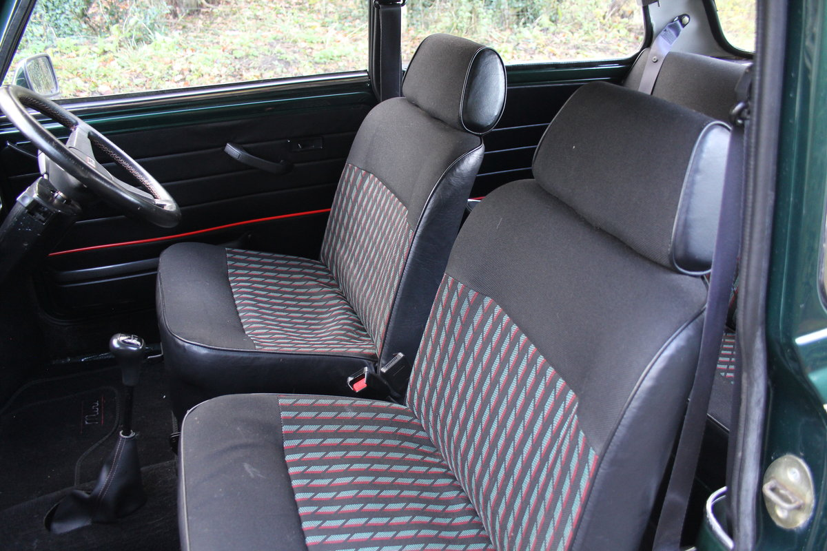 1991 Rover Mini Cooper 1275, 82k miles, top quality original car For Sale (picture 13 of 18)