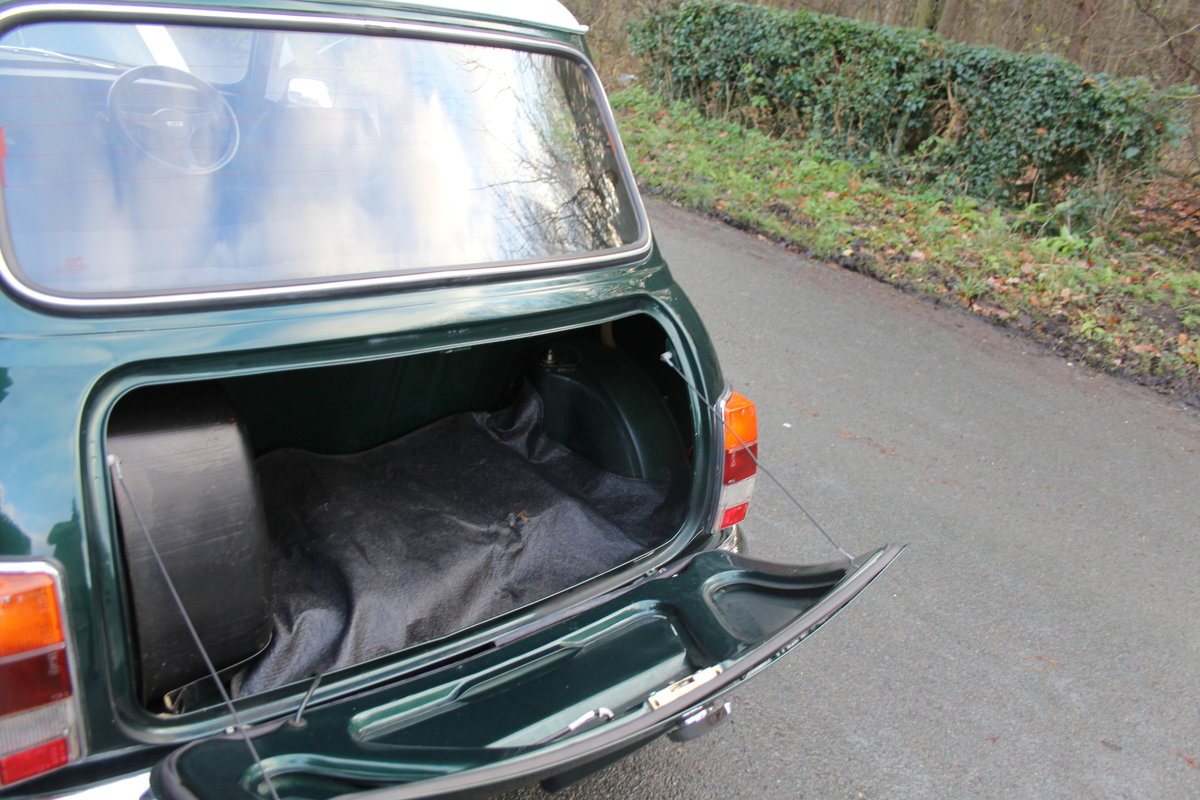 1991 Rover Mini Cooper 1275, 82k miles, top quality original car For Sale (picture 18 of 18)