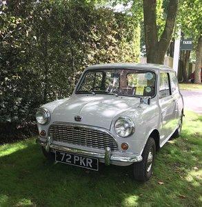 1961 Austin Seven Mini ex Christine Keeler Profumo
