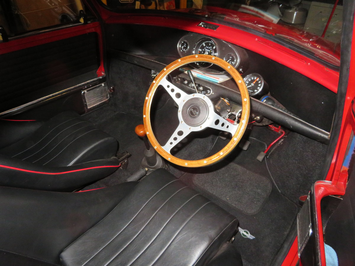 1965 Mini Mark 1 converted to Cooper S Spec. SOLD (picture 4 of 6)