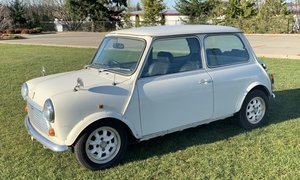1988 Morris Mini Mayfair 1000 RHD Manual Ivory $6.6k