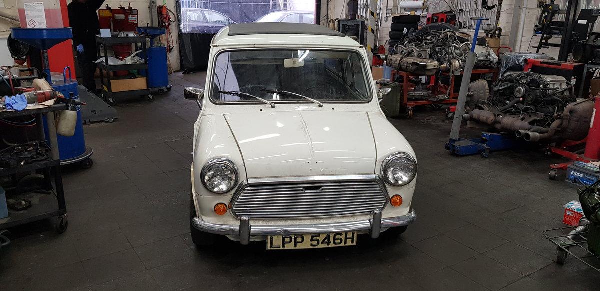 1969 Mini Mk2 Auto Project SOLD (picture 1 of 6)
