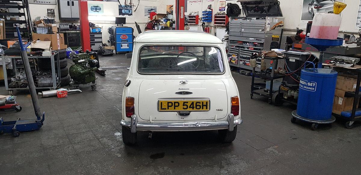 1969 Mini Mk2 Auto Project SOLD (picture 2 of 6)