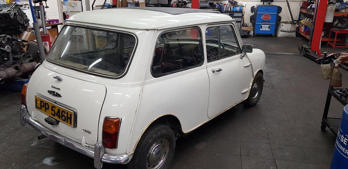 1969 Mini Mk2 Auto Project SOLD (picture 4 of 6)