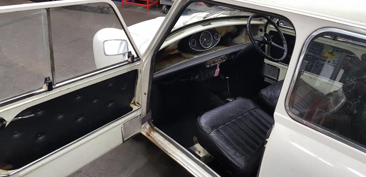 1969 Mini Mk2 Auto Project SOLD (picture 5 of 6)
