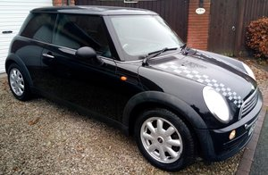 Y Reg (2001) Very Early Production Mini. OBL Plate For Sale
