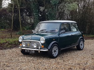 1989 Unique Mini Racing Green On 3800 Miles From New!! For Sale