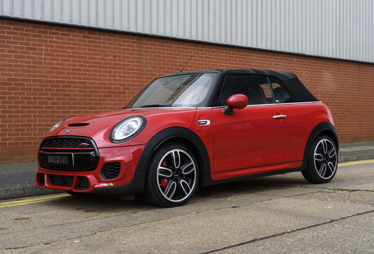 2019 Mini John Cooper Works Cabriolet (LHD) For Sale (picture 1 of 23)
