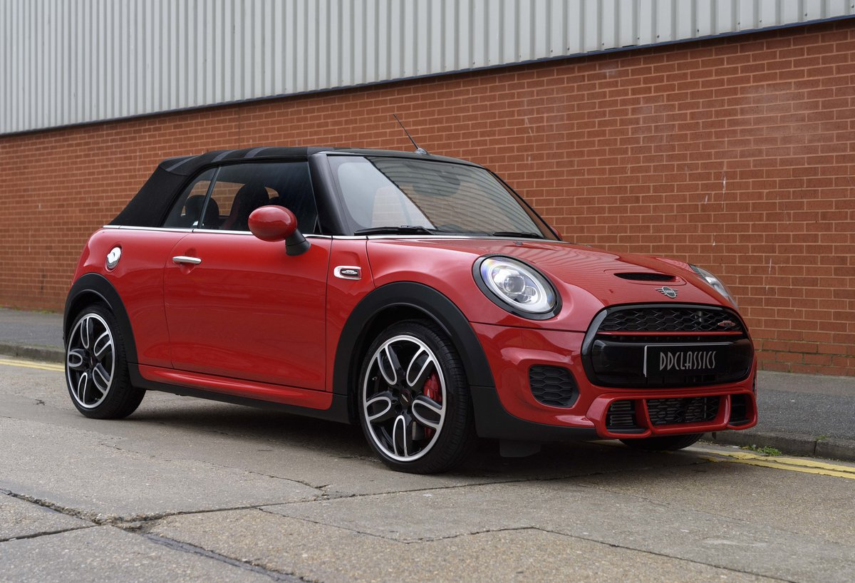 2019 Mini John Cooper Works Cabriolet (LHD) For Sale (picture 2 of 23)