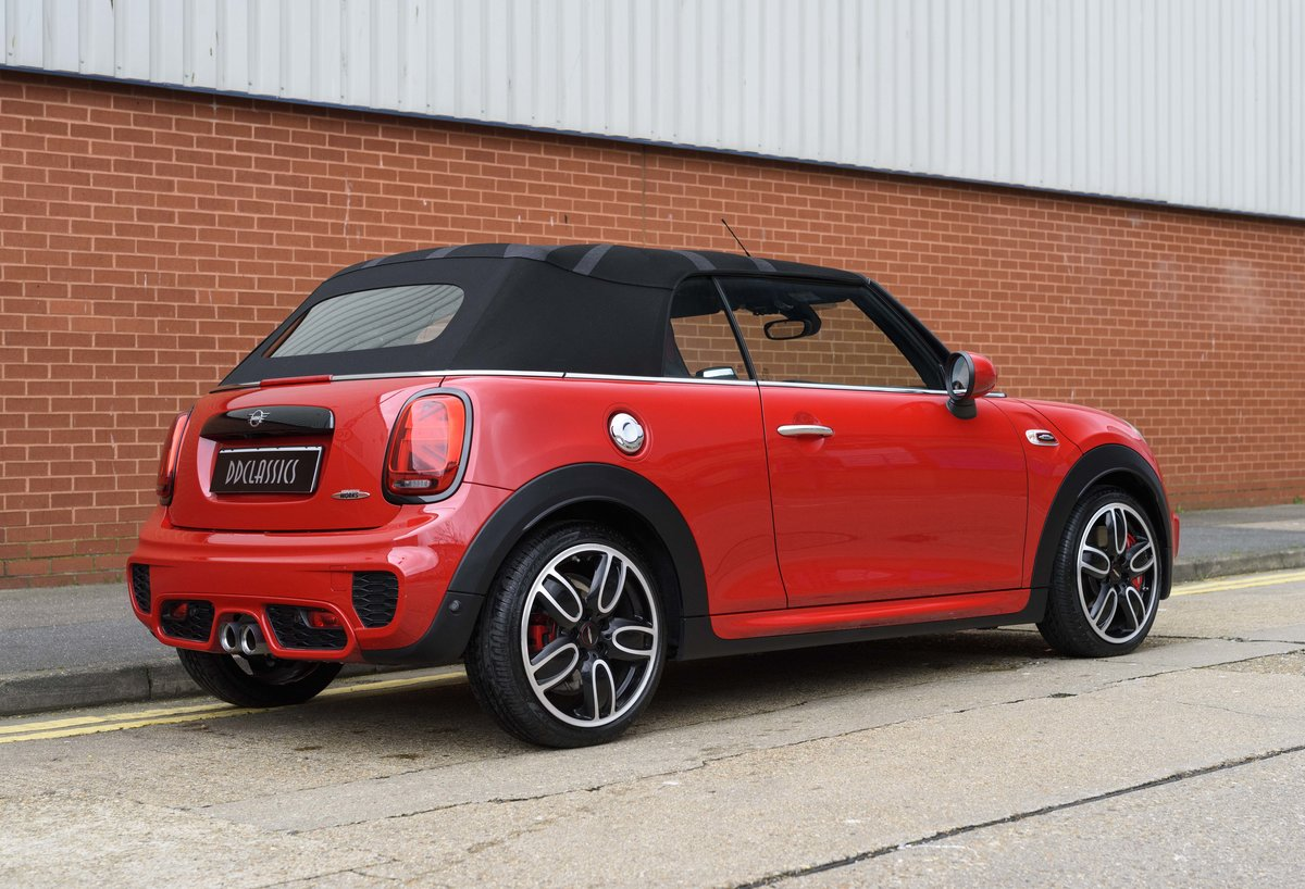 2019 Mini John Cooper Works Cabriolet (LHD) For Sale (picture 3 of 23)