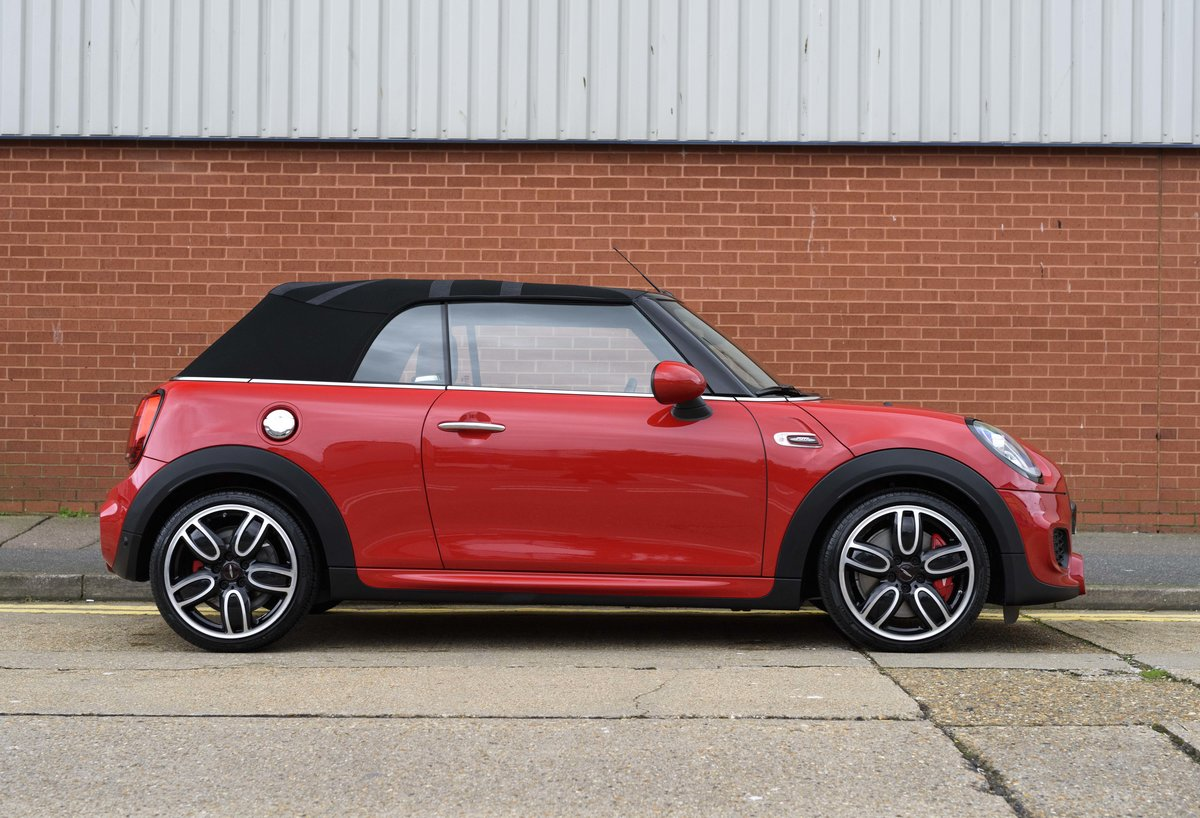 2019 Mini John Cooper Works Cabriolet (LHD) For Sale (picture 5 of 23)