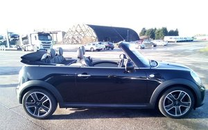 2011 Mini Cooper D Convertible with full leather FSH
