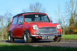 1969 Mini Cooper 998 MkII For Sale by Auction