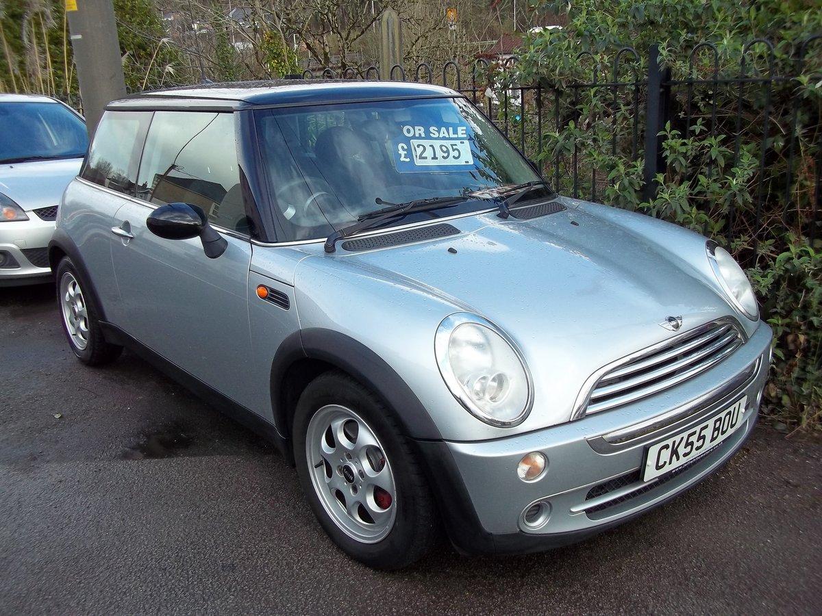 2005 Mini Cooper  1.6 For Sale (picture 1 of 5)