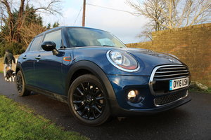 2016 Mini Hatch Cooper 1.5 Petrol Turbo Pepper Pack SOLD