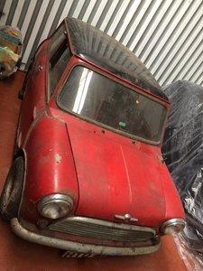1964 Morris Mini Cooper barn find