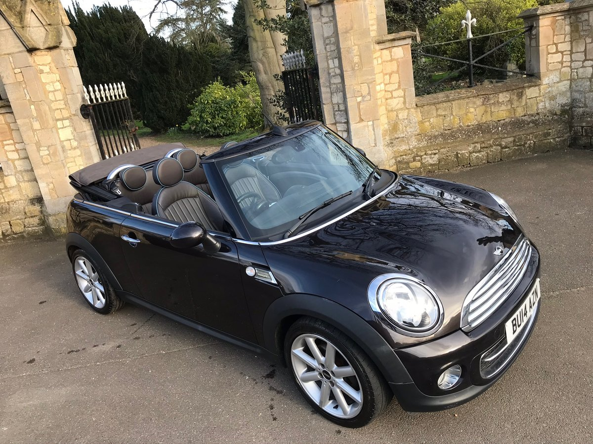 2014 Mini Cooper Convertible D Highgate edition For Sale (picture 1 of 6)