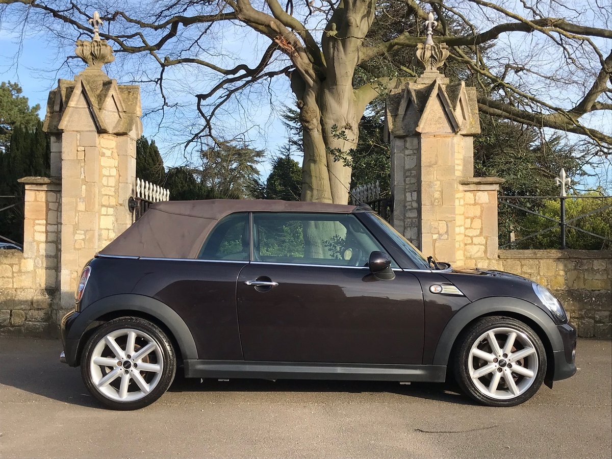 2014 Mini Cooper Convertible D Highgate edition For Sale (picture 2 of 6)