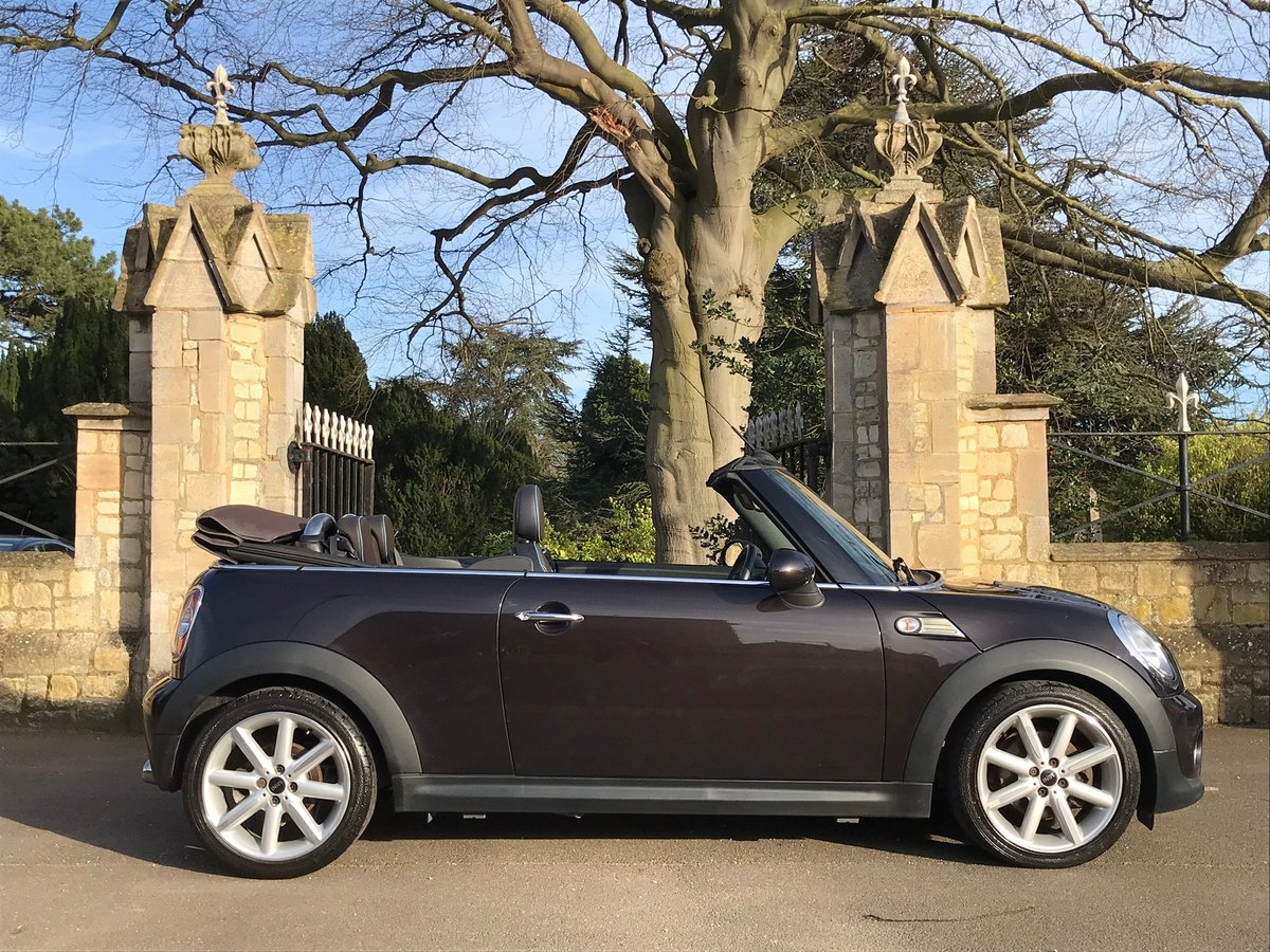 2014 Mini Cooper Convertible D Highgate edition For Sale (picture 3 of 6)