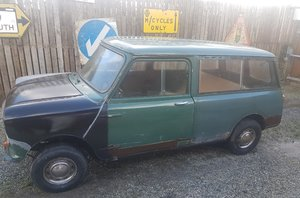 1968 Morris mini traveller woody all welding done For Sale