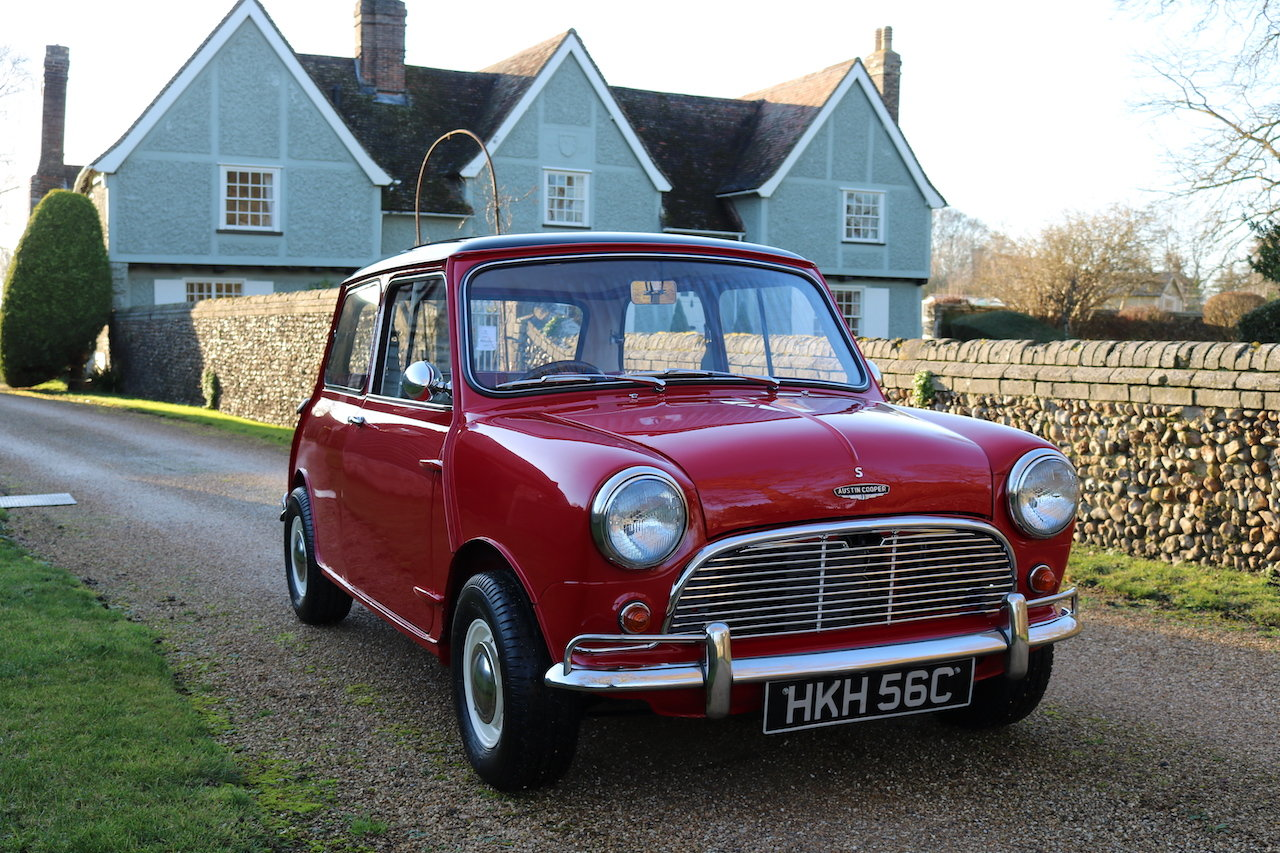 Austin Cooper 970-S (1964) Early Rare Car In Restored Condit For Sale (picture 1 of 6)