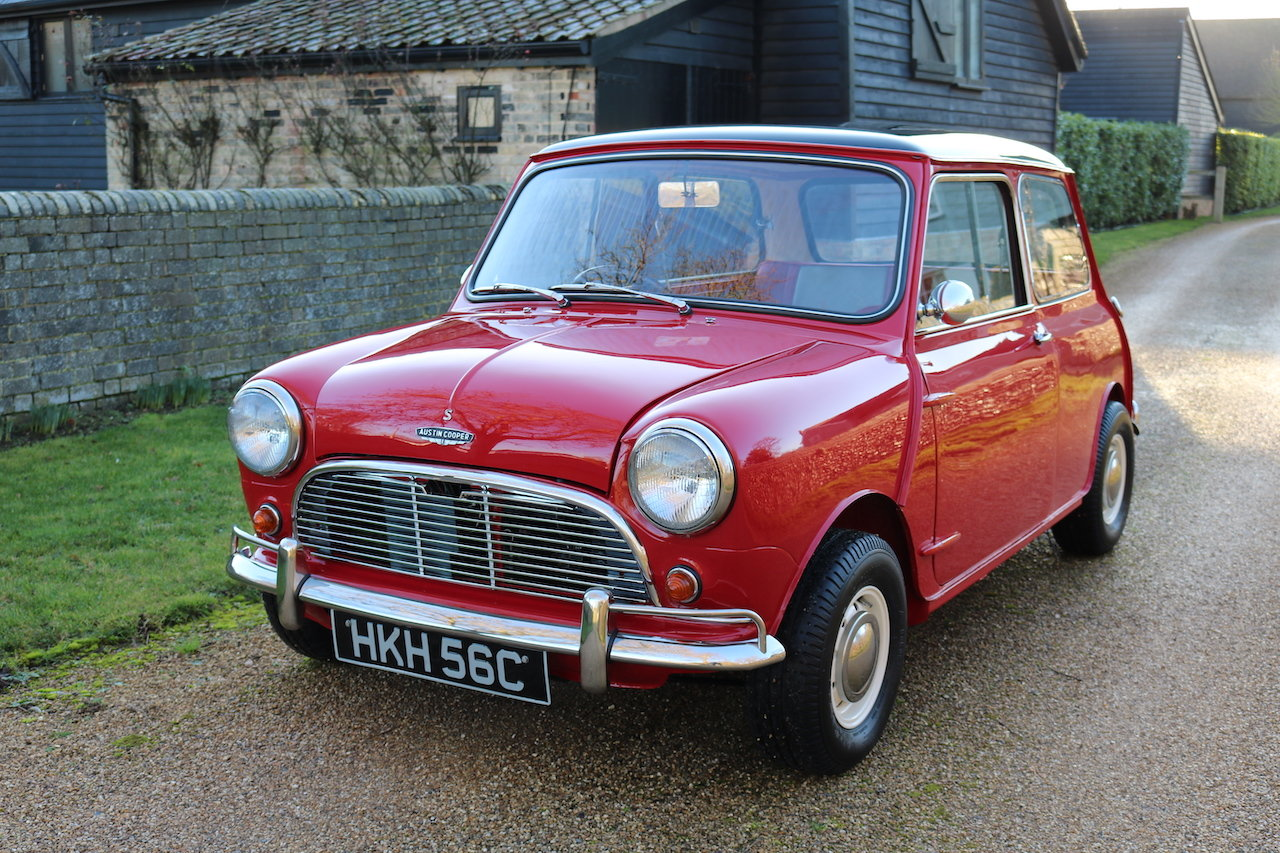 Austin Cooper 970-S (1964) Early Rare Car In Restored Condit For Sale (picture 2 of 6)