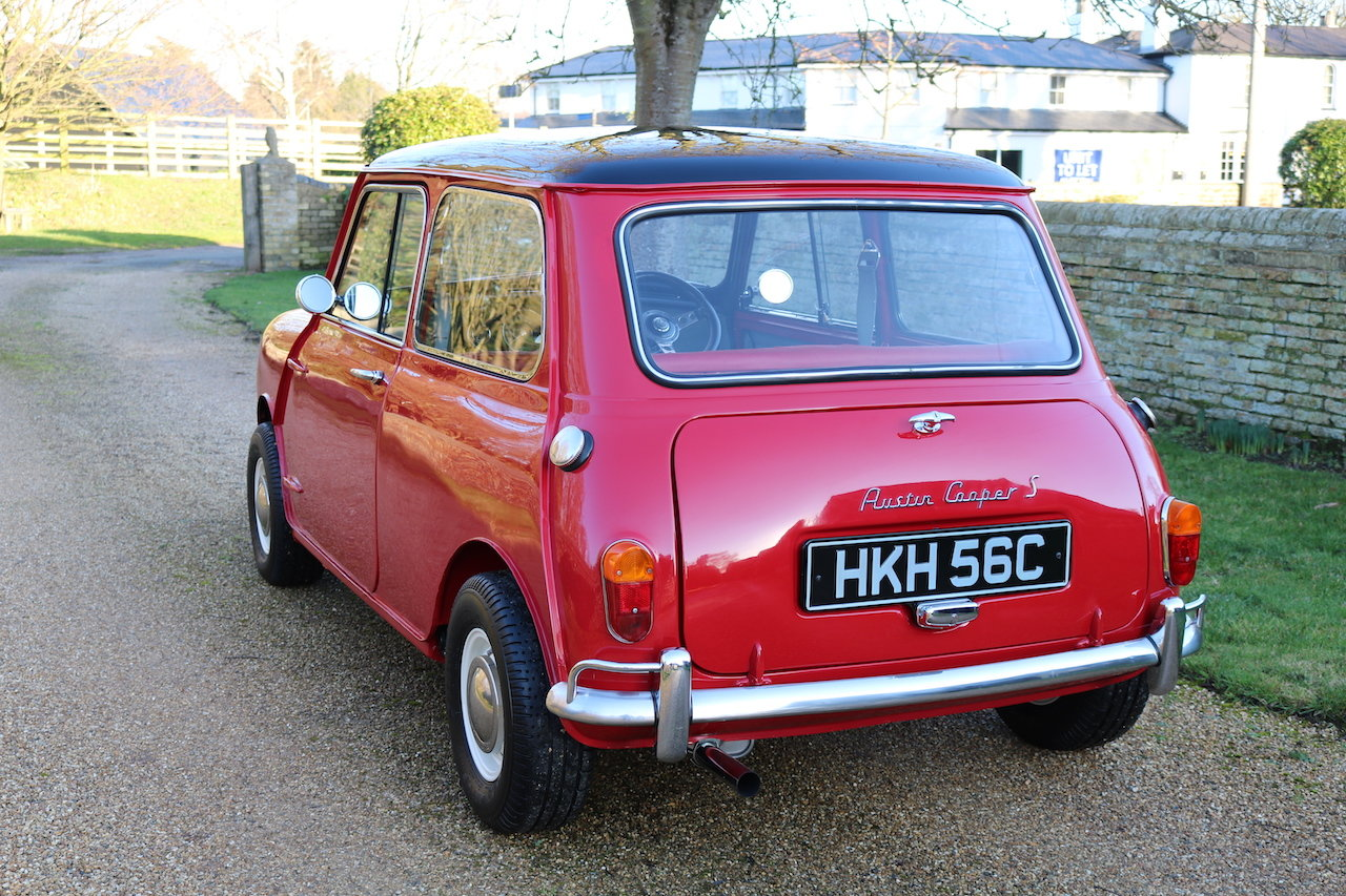 Austin Cooper 970-S (1964) Early Rare Car In Restored Condit For Sale (picture 3 of 6)