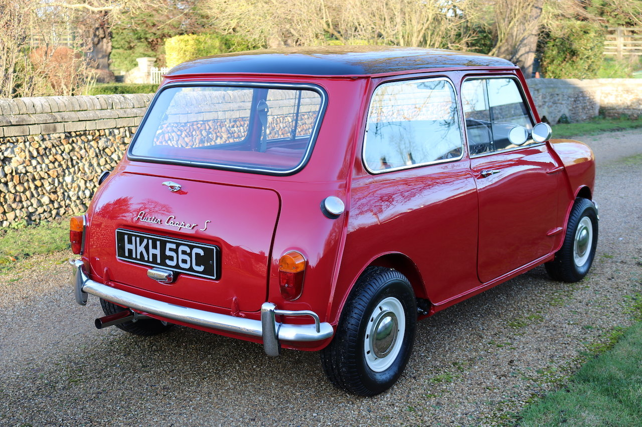 Austin Cooper 970-S (1964) Early Rare Car In Restored Condit For Sale (picture 4 of 6)
