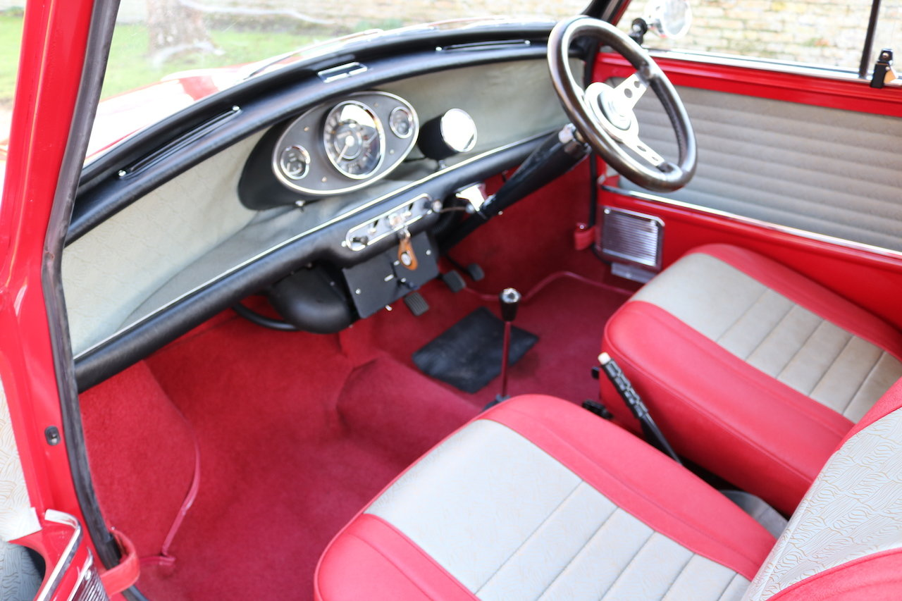 Austin Cooper 970-S (1964) Early Rare Car In Restored Condit For Sale (picture 5 of 6)