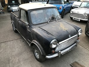 1974 Mini Pickup Restoration Project  SOLD