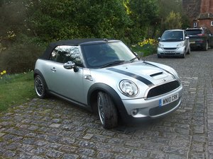 2010 MINI COOPER S CONVERTIBLE SOLD